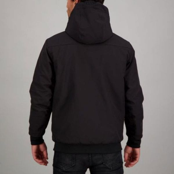 Airforce Heren Padded Bomber True Black
