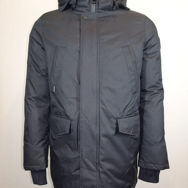 Airforce Heren Slimfit Parka Dark Navy Blue
