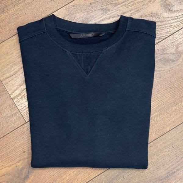 Airforce Sweater Dark Navy Blue