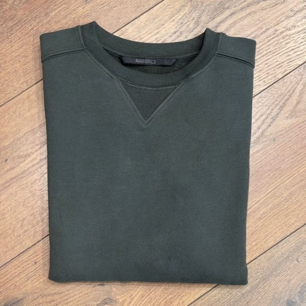 Airforce Sweater Duffelbag/ Groen