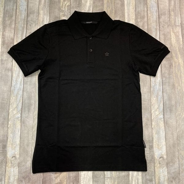Airforce Polo Outline Star True Black